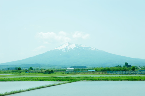 Active Volcano「View of mountain from the train window」:スマホ壁紙(18)