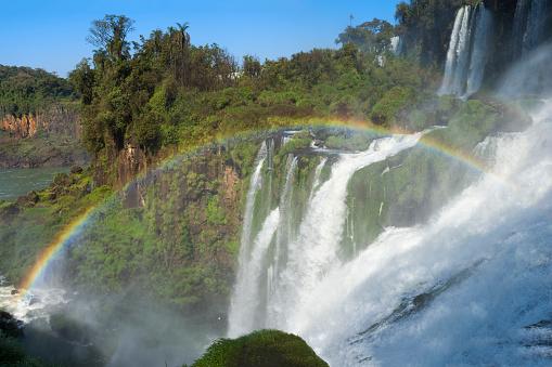 虹「Iguazu Falls」:スマホ壁紙(17)