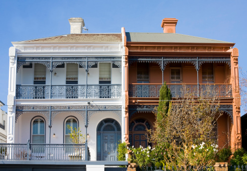 Row House「Victorian terraces」:スマホ壁紙(15)