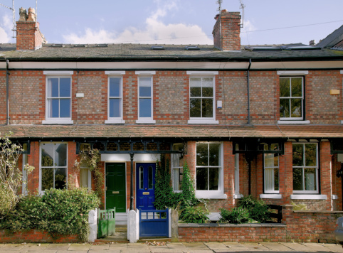 Sash Window「Victorian Terrace, Didsbury, Manchester, UK-More buildings exteriors below」:スマホ壁紙(5)