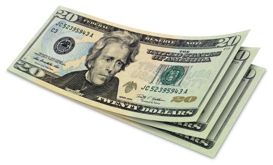Currency「Twenty Dollar Banknotes」:スマホ壁紙(4)