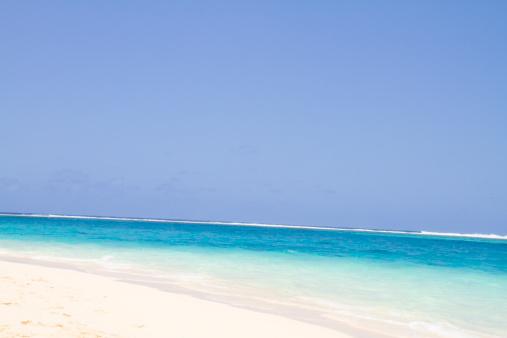 Northern Mariana Islands「Beach and blue sky, Managaha island」:スマホ壁紙(13)