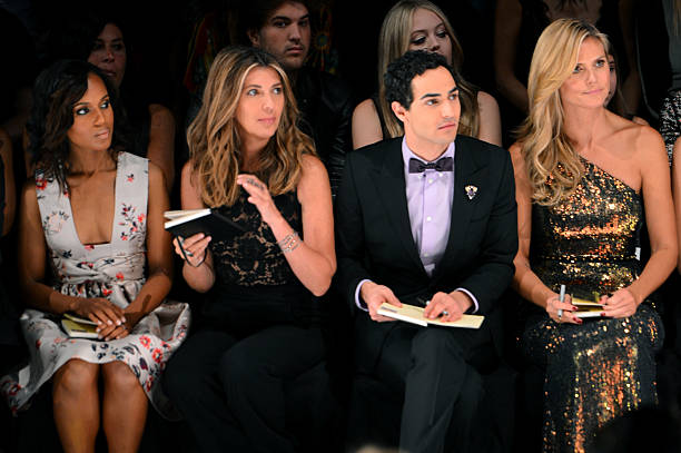 Project Runway - Front Row - Mercedes-Benz Fashion Week Spring 2014:ニュース(壁紙.com)