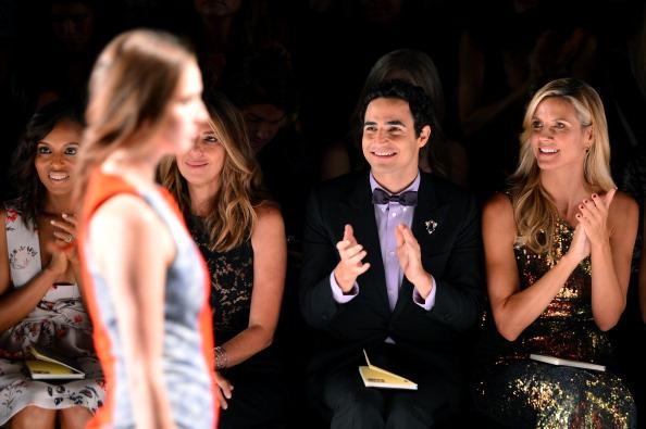 Stephen Lovekin「Project Runway - Front Row - Mercedes-Benz Fashion Week Spring 2014」:写真・画像(4)[壁紙.com]