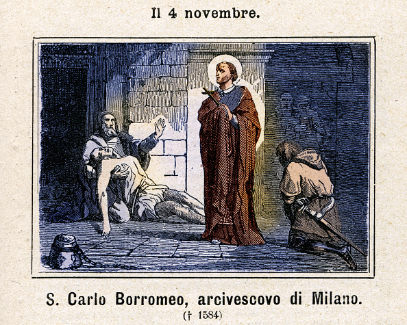 Religious Icon「Saint Carlo Borromeo」:写真・画像(16)[壁紙.com]