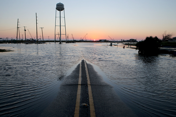 Damaged「Hurricane Delta Takes Aim At Louisiana's Gulf Coast」:写真・画像(9)[壁紙.com]