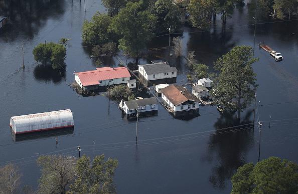Torrential Rain「U.S. Military Surveys Flood Damage After Hurricane Florence」:写真・画像(19)[壁紙.com]