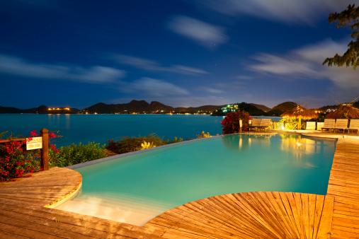 アンティグアバーブーダ「プールとカリブ海でのご宿泊」:スマホ壁紙(0)
