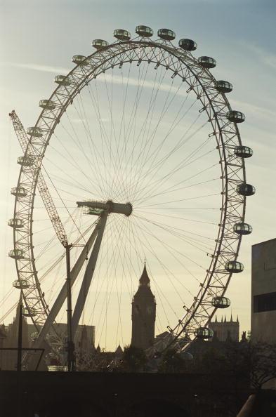 Tourism「The London Eye」:写真・画像(2)[壁紙.com]