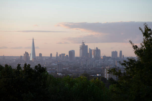 London Skyline At Sunset:ニュース(壁紙.com)