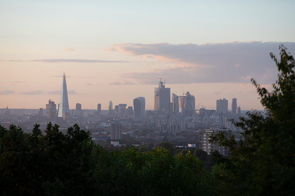 Urban Skyline「London Skyline At Sunset」:写真・画像(7)[壁紙.com]