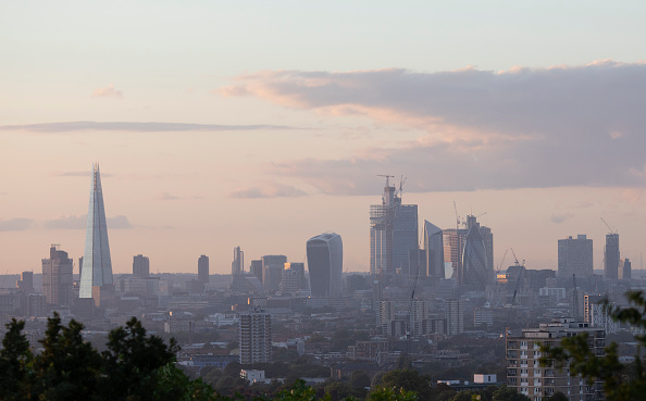 Urban Skyline「London Skyline At Sunset」:写真・画像(18)[壁紙.com]
