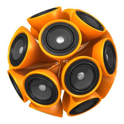 Audio Equipment「Speaker Ball」:スマホ壁紙(0)