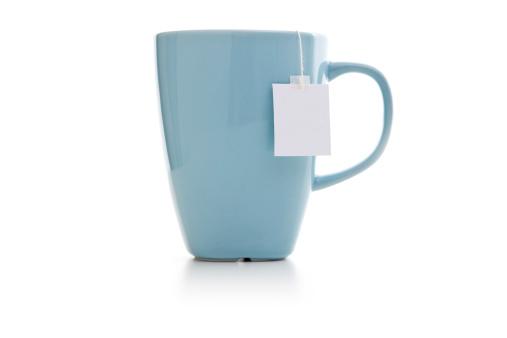 Tea「Blue mug with tea bag」:スマホ壁紙(3)