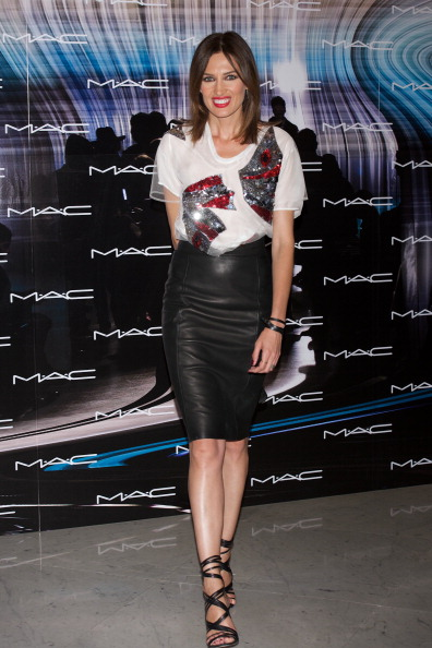 Strappy Shoe「Celebrities Make Up Catwalk in Madrid」:写真・画像(14)[壁紙.com]