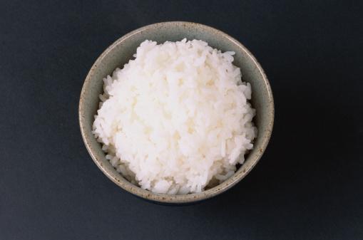 Rice - Food Staple「Bowl of white rice, overhead view」:スマホ壁紙(14)