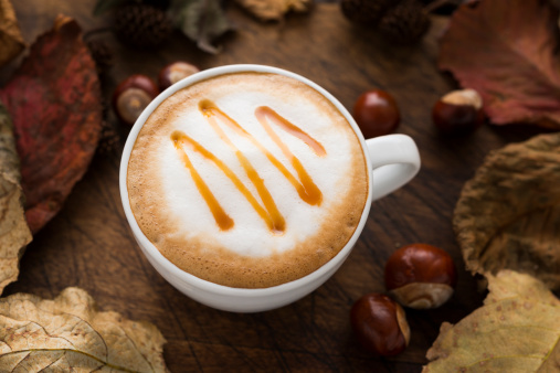 Caramel「Autumn Caramel Coffee」:スマホ壁紙(17)