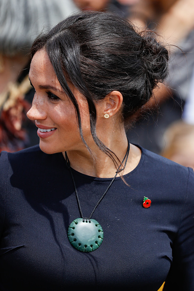 Necklace「The Duke And Duchess Of Sussex Visit New Zealand - Day 4」:写真・画像(11)[壁紙.com]