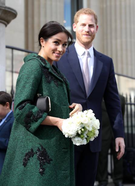 The Duke And Duchess Of Sussex Attend A Commonwealth Day Youth Event At Canada House:ニュース(壁紙.com)