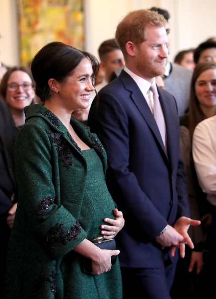 Pregnant「The Duke And Duchess Of Sussex Attend A Commonwealth Day Youth Event At Canada House」:写真・画像(11)[壁紙.com]