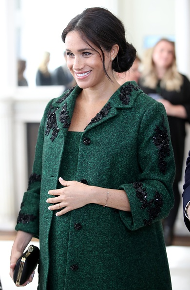 Green Color「The Duke And Duchess Of Sussex Attend A Commonwealth Day Youth Event At Canada House」:写真・画像(2)[壁紙.com]