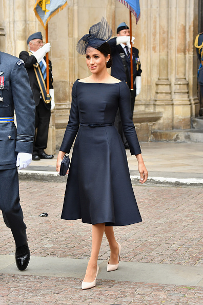 Blue Dress「Members Of The Royal Family Attend Events To Mark The Centenary Of The RAF」:写真・画像(3)[壁紙.com]