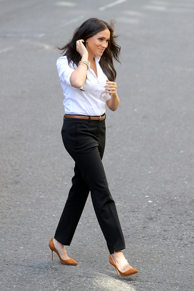 Black Pants「The Duchess Of Sussex Launches Smart Works Capsule Collection」:写真・画像(6)[壁紙.com]