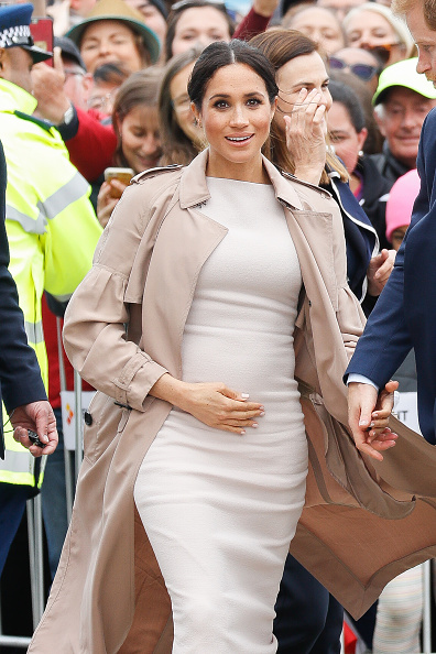 Pregnant「The Duke And Duchess Of Sussex Visit New Zealand - Day 3」:写真・画像(3)[壁紙.com]