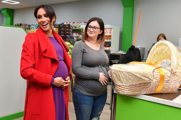 Pregnant「The Duke And Duchess Of Sussex Visit Birkenhead」:写真・画像(13)[壁紙.com]
