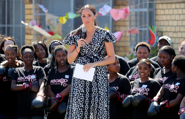 Speech「The Duke and Duchess Of Sussex Visit South Africa」:写真・画像(17)[壁紙.com]
