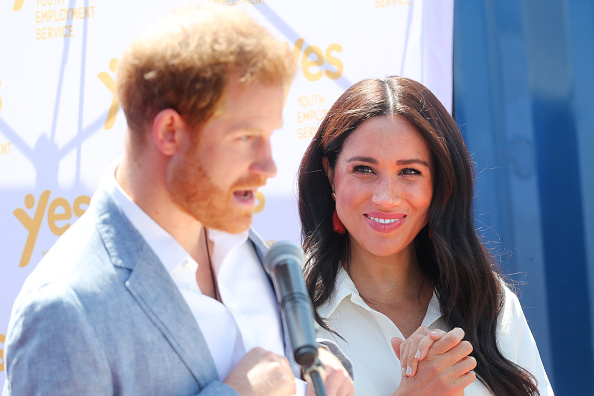 Talking「The Duke And Duchess Of Sussex Visit Johannesburg - Day Two」:写真・画像(13)[壁紙.com]