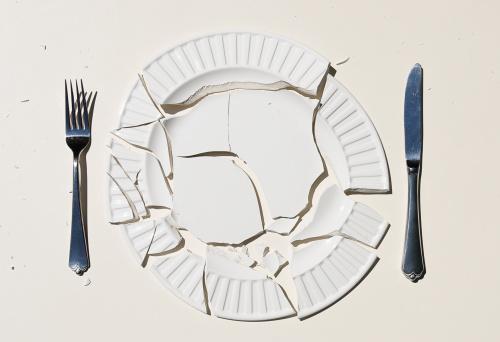 Destruction「Broken Plate」:スマホ壁紙(17)