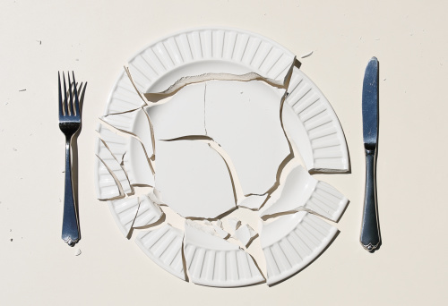 Food and Drink「Broken Plate」:スマホ壁紙(12)