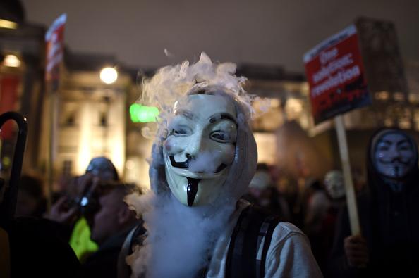 Ben Pruchnie「Million Mask March Demonstration Takes Place In London」:写真・画像(11)[壁紙.com]