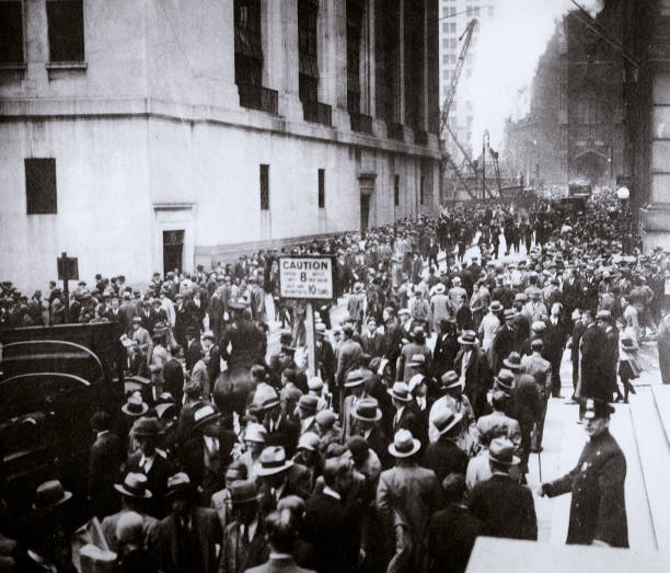 The Wall Street Crash New York City USA Thursday 24 October 1929:ニュース(壁紙.com)