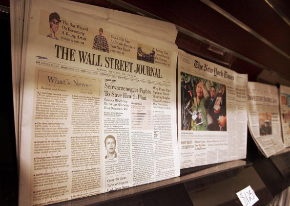 Dow Jones Industrial Average「Dow Jones And News Corp Close To Deal On Wall Street Journal」:写真・画像(15)[壁紙.com]