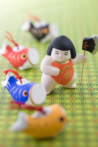 こどもの日「Children's day ornament」:スマホ壁紙(9)