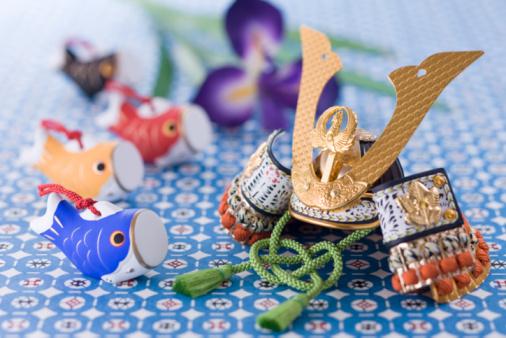こどもの日「Children's day ornament」:スマホ壁紙(18)