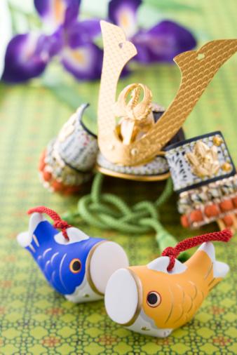 こどもの日「Children's day ornament」:スマホ壁紙(5)