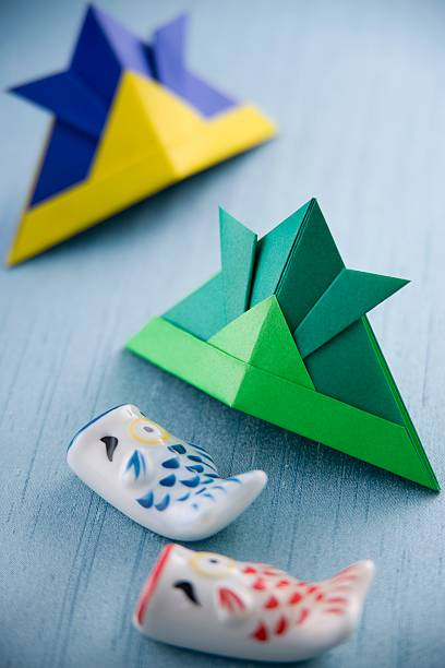Children's day origami:スマホ壁紙(壁紙.com)
