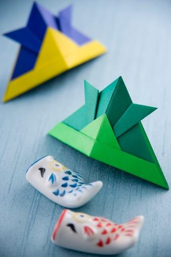 こどもの日「Children's day origami」:スマホ壁紙(3)
