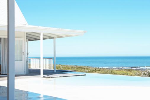 Resort「Beautiful seascape from the beach house」:スマホ壁紙(12)
