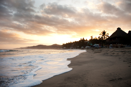 Sayulita「Beautiful sunrise in Sayulita, Mexico.」:スマホ壁紙(10)