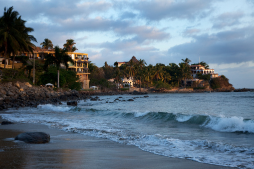 Sayulita「Beautiful sunrise in Sayulita, Mexico.」:スマホ壁紙(2)