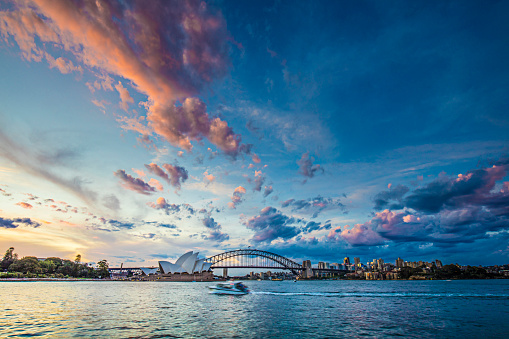 Twilight「Beautiful sunset in Sydney」:スマホ壁紙(4)