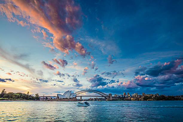 Beautiful sunset in Sydney:スマホ壁紙(壁紙.com)