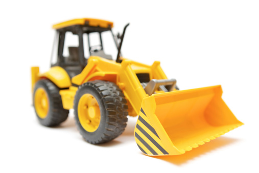 Construction Vehicle「Toy Bulldozer」:スマホ壁紙(1)