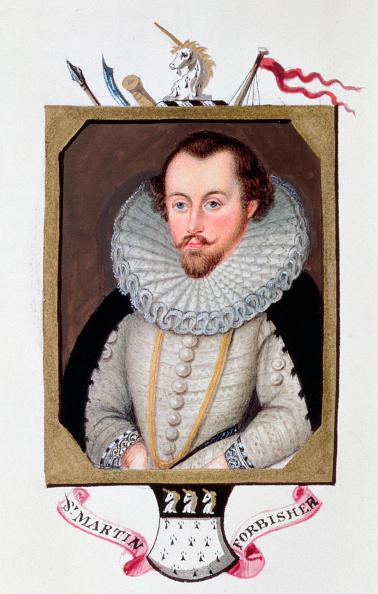 Elizabethan Style「Sir Martin Frobisher 16th Century English Navigator (1825)」:写真・画像(19)[壁紙.com]