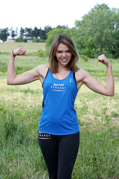 "Aimee Teegarden「Marriott Rewards Reunites Cast Members of ""Friday Night Lights"" for Spartan Race」:写真・画像(4)[壁紙.com]"