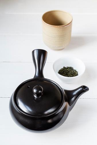 Teapot「Preparation of green tea with a Kyusu teapot」:スマホ壁紙(17)